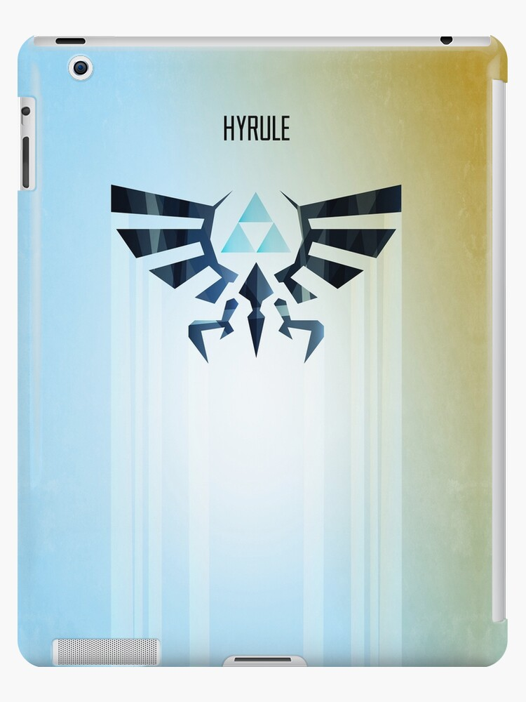 Legend of Zelda Hyrule Rising Minimal Vector Poster  by barrettbiggers