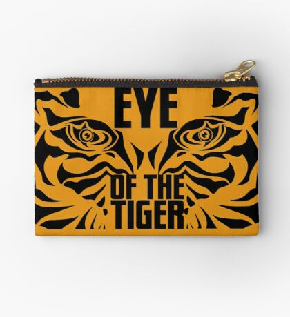 Eye of the tiger - Rocky Balboa Zipper Pouch