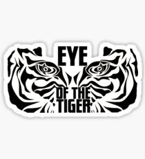 Eye of the tiger - Rocky Balboa Sticker