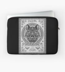 Legend of Zelda Twilight Princess Wolf Link Line Artly  Laptop Sleeve