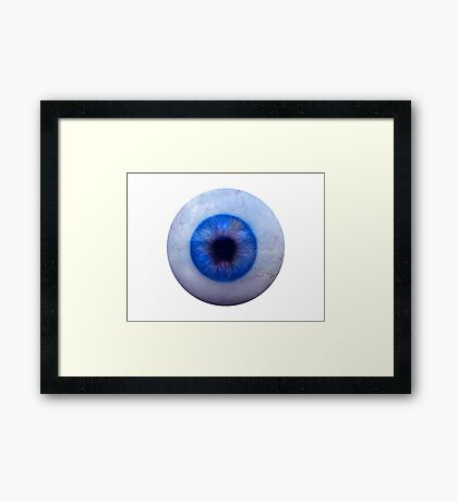 Awesome  Eye - Cool effect Framed Print