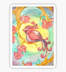 Acrylic Songbird Sticker