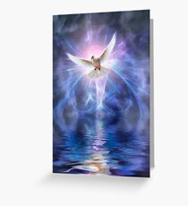 Harbinger Greeting Card