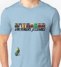 Owlvengers Assemble T-Shirt