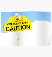 Avalanche Area Poster