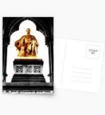 Prince Albert memorial, London Postcards