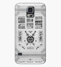 Legend of Zelda Hylian Shield Geek Line Artly Case/Skin for Samsung Galaxy