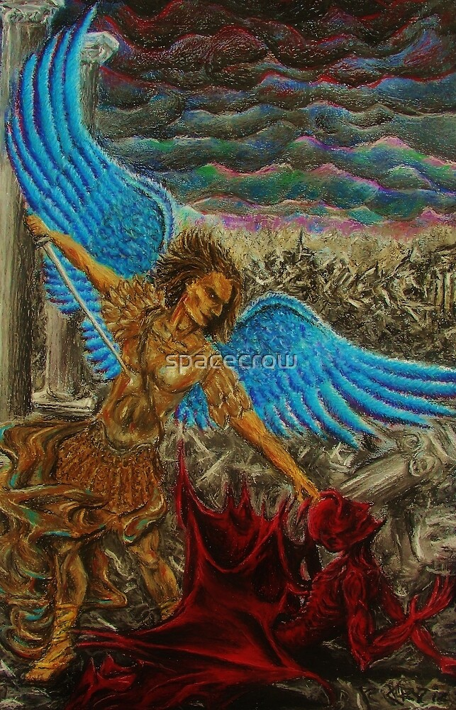 Saint Michael, Archangel by spacecrow