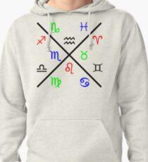 Zodiac Cross Pullover Hoodie