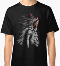 Mononoke Wolf Anime Tra Peinture Numérique T-shirt classique