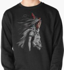 Mononoke Wolf Anime Tra Digitale Malerei Sweatshirt