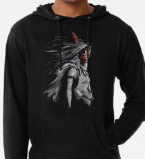 Mononoke Wolf Anime Tra Digitale Malerei Leichter Hoodie