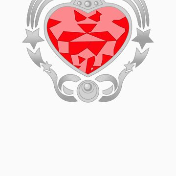 Cosmic Heart Compact (Silver) by scarlethue