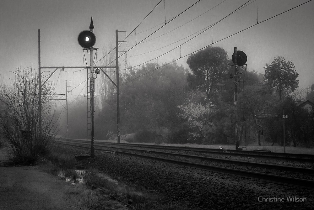 On Track  by Christine Wilson
