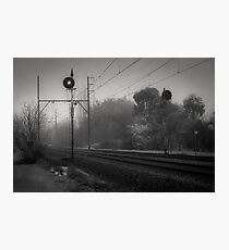 On Track  Photographic Print