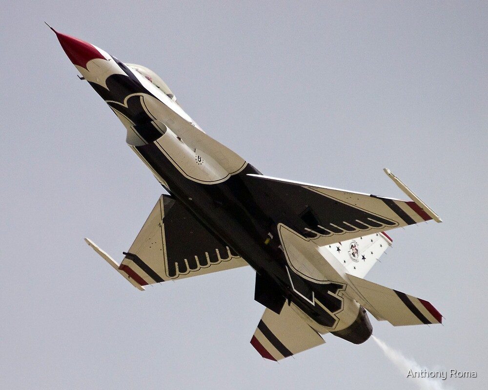 Thunderbird Overhead Pass by Anthony Roma