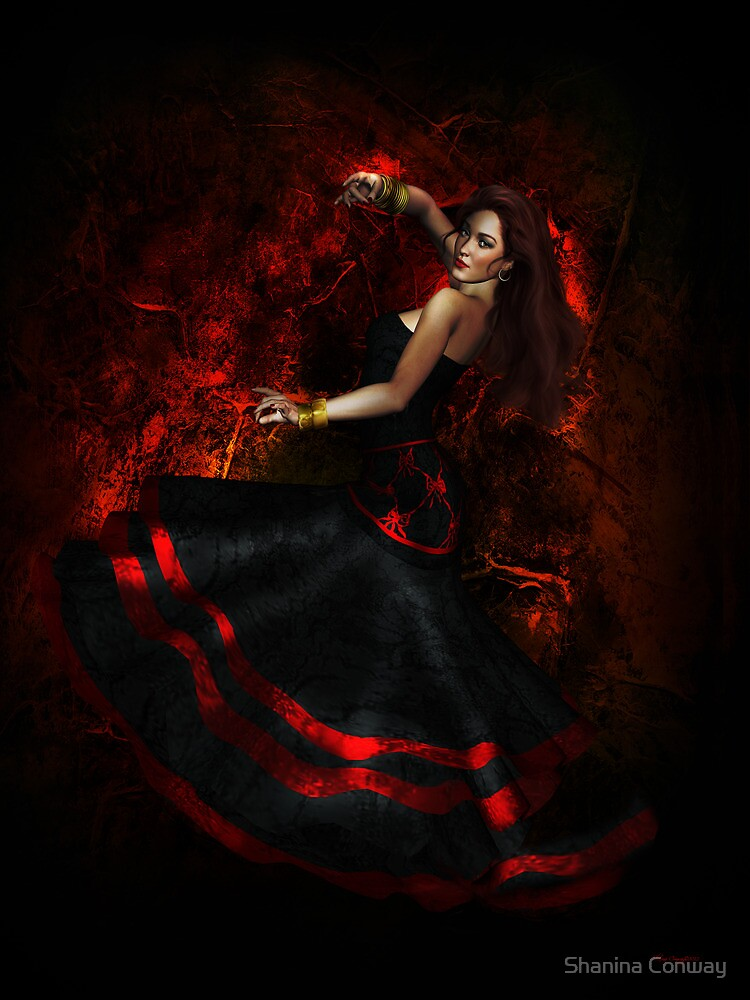 Quot Flamenco Dancer Quot By Shanina Conway Redbubble