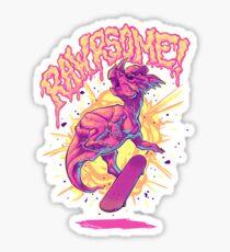 Rawrsome Sticker