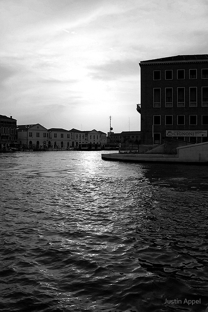 Canal in Venice by Justin Appel