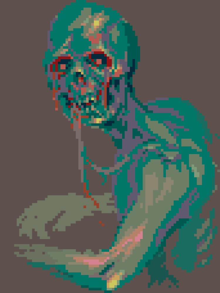 Pixel Zombie by ProminentDetail