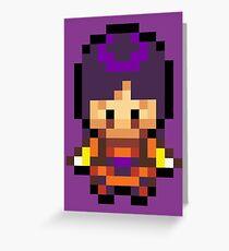 Sabrina Overworld Sprite Greeting Card