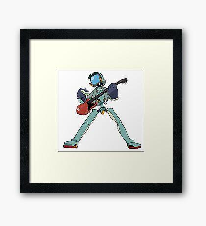FLCL Music Band Framed Print