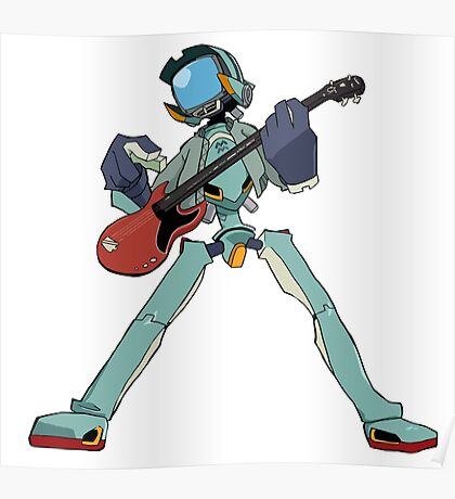 FLCL Music Band Poster