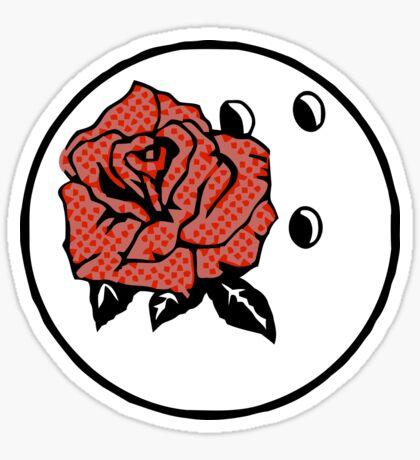 Ernie MCcracken Bowling Bowl Sticker