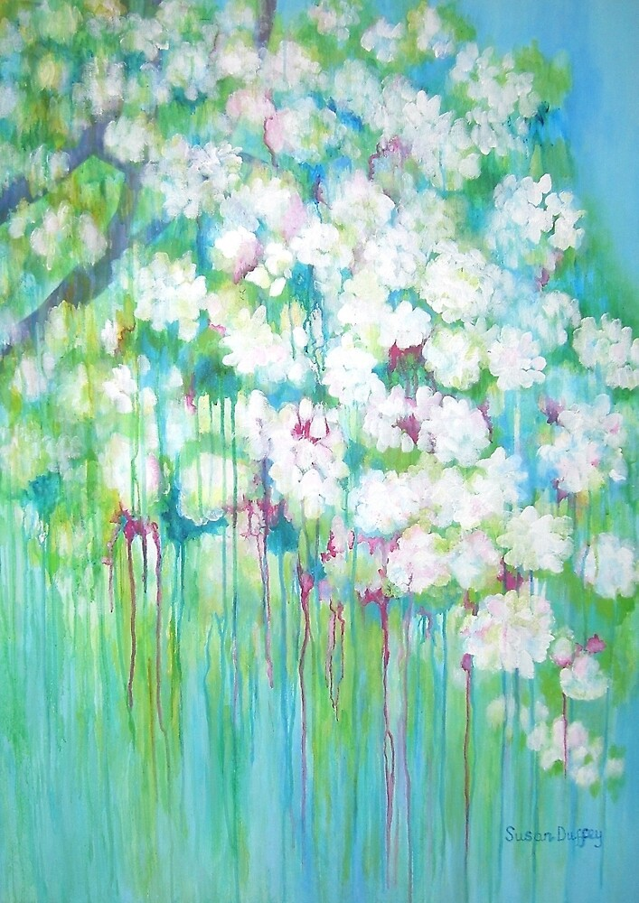 Spring Trees by Susan Scott