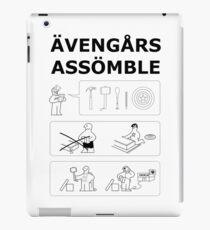 Superheroes Assembling iPad Case/Skin
