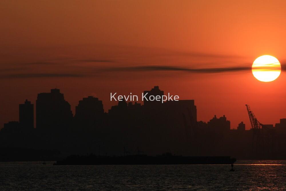 brooklyn dawn. by Kevin Koepke