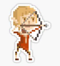 Pixel Sera - Dragon Age Sticker