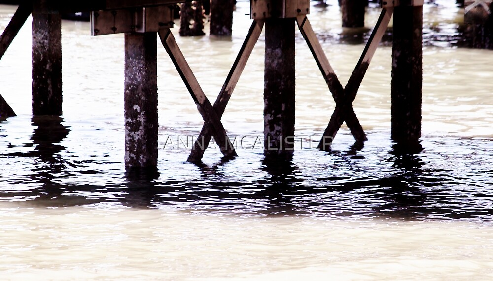 Under The Boardwalk by ANNA MCALISTER