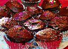 Chocolate Blackberry Cupcakes by Tori Snow