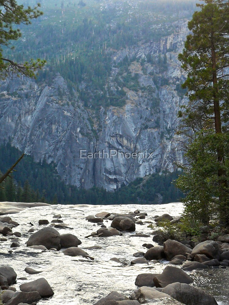 Where the River Flows in Yosemite by EarthPhoenix