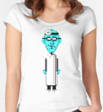 Maniac Mansion #04 Women's Fitted Scoop T-Shirt