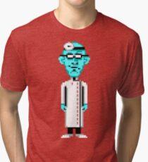 Maniac Mansion #04 Tri-blend T-Shirt