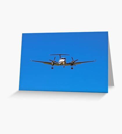 Beechcraft Super King Air 350 Greeting Card
