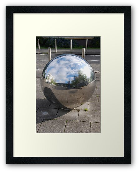 Silver Sphere by Neil Evans