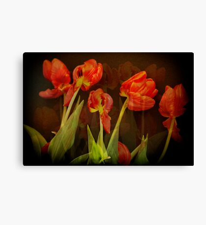 These memories past... Canvas Print