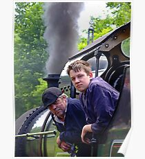 Driver And Fireman Poster