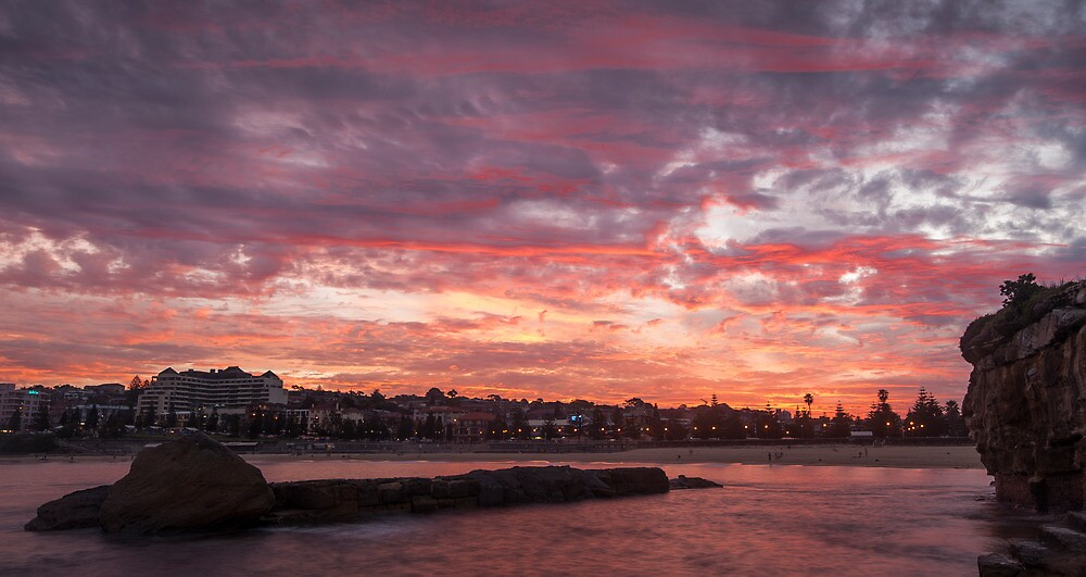 Coogee sunset by KeithMcInnes