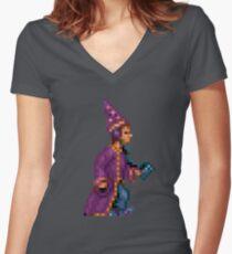 Simon the Sorcerer #01 Women's Fitted V-Neck T-Shirt