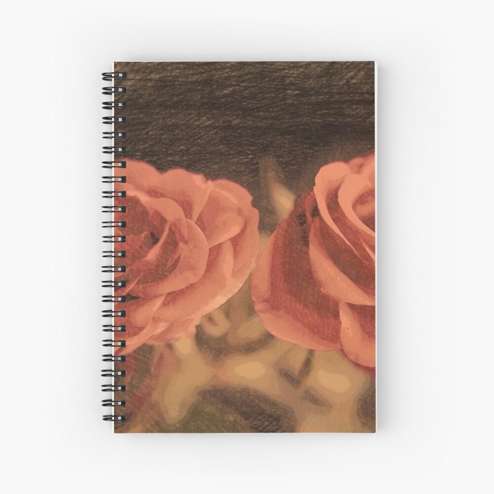 Ein Paar Rosen in sketch3 Spiralblock