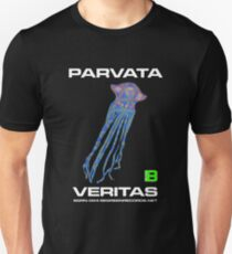 Parvata - Veritas Merch (Ribbon Jellyfish Flower of Life 11) Unisex T-Shirt