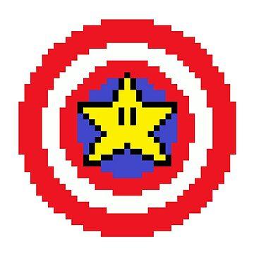 Captain pixel by GeekandTek