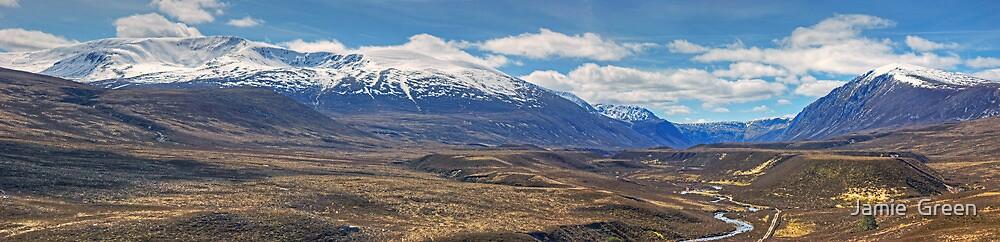 Walks In The Cairngorms...Glen Einich by Jamie  Green