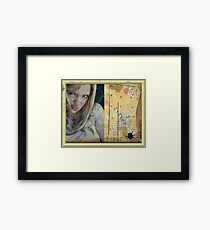 Le Blog Framed Print
