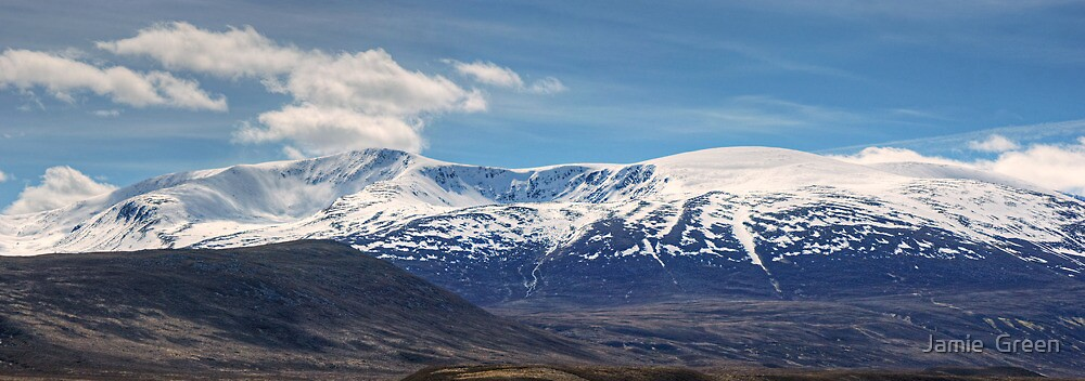 Walks In The Cairngorms...Farewell To Braeriach by Jamie  Green