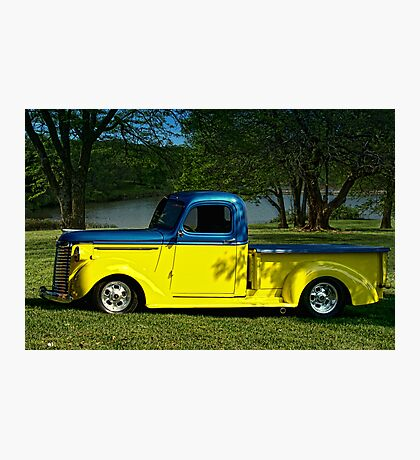 1940 Chevrolet Pickup Truck Hot Rod Photographic Print
